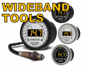 Wide Band AFR Gauges and Accessories