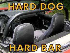 Hard Bar Roll Bars for Miata MX5