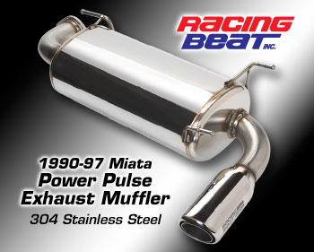 Racing Beat Muffler NA Display