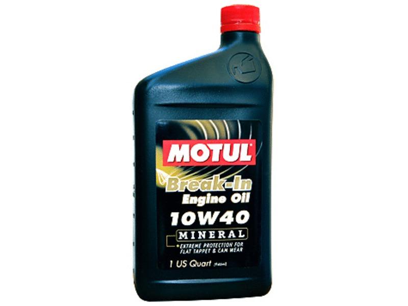 Motul 10w40 Break In Mineral Engine Oil