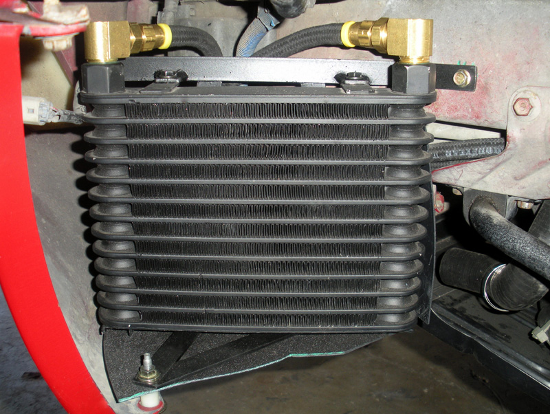 Oil Cooler mount