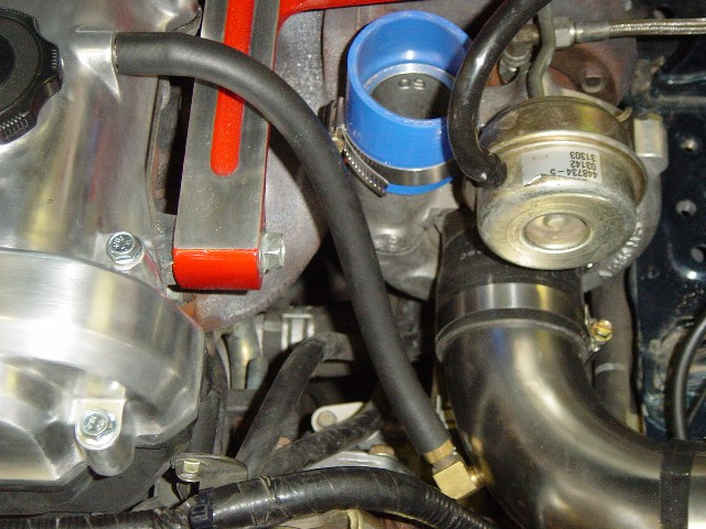 Step 11 - Installing the Intercooler Pipes