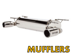 Exhaust Mufflers for Miata MX5