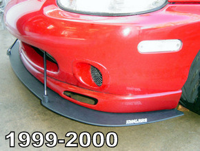 Air splitters for the 1999-2000 NB1 Miata MX5