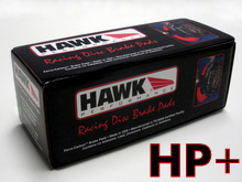 Hawk HP+ Street Brake Pads for the Mazda Miata MX5