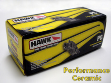 Hawk Performance Ceramic Brake Pads for the Mazda Miata MX5