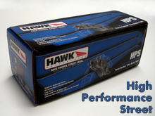 Hawk HPS Brake Pads for the Mazda Miata MX5