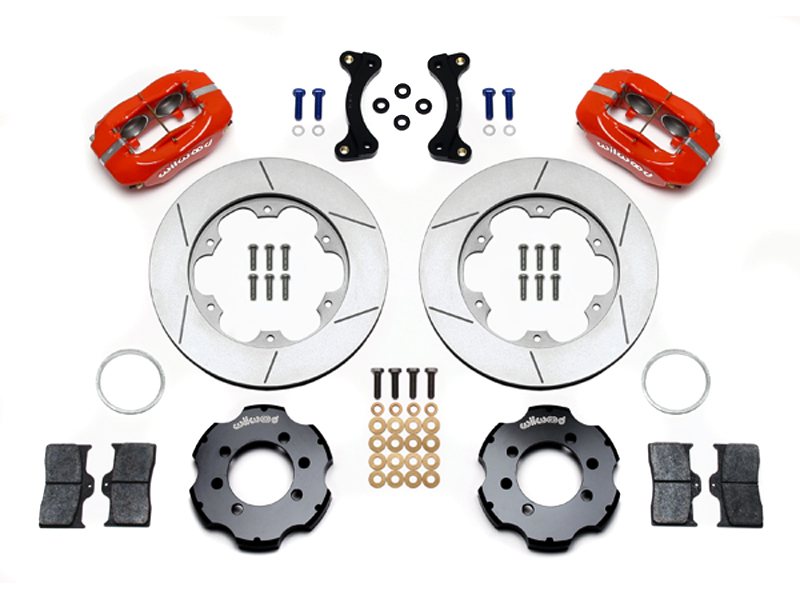 Wilwood 4-Piston Caliper Kit - Red