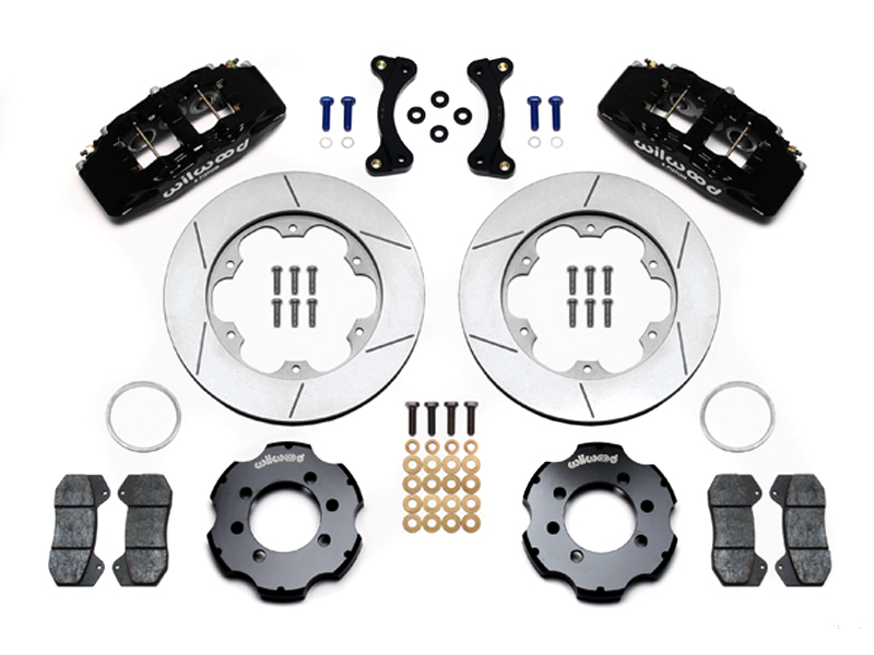 Wilwood 4-Piston Caliper Kit - Black