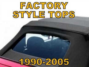 Factory Style Convertible Tops 1990-2005 Miata MX5