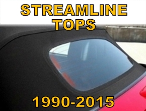 Streamline Convertible Tops 1990-2015 Miata MX5