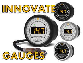 Individual Innovate Gauges for Miata MX5