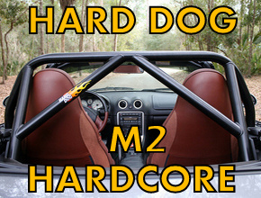 M2 Hard Core Roll Bars for Miata MX5