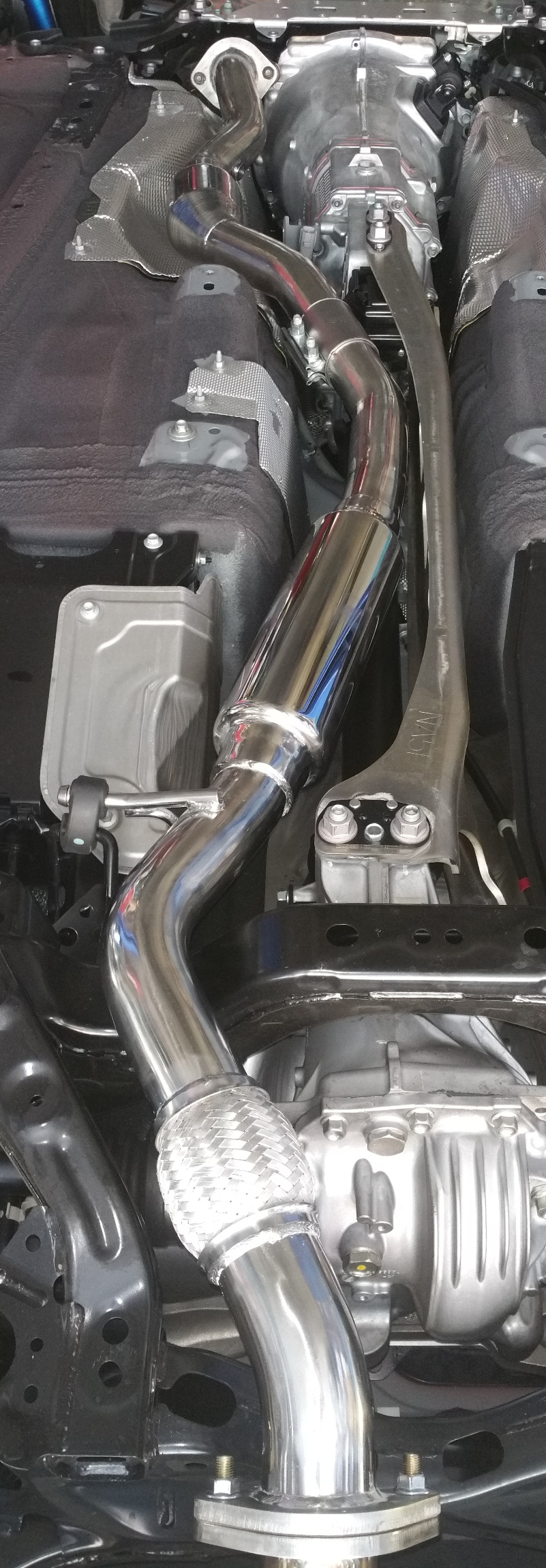 RoadsterSport Midpipe for ND