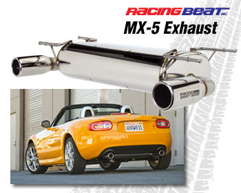 Racing Beat Muffler NC Display
