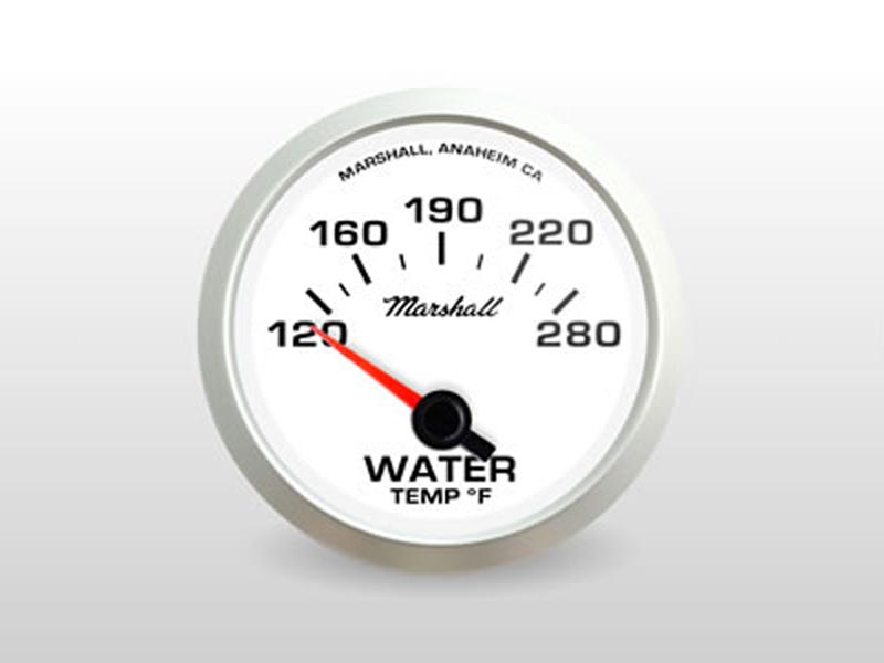 White Water Temp Gauge