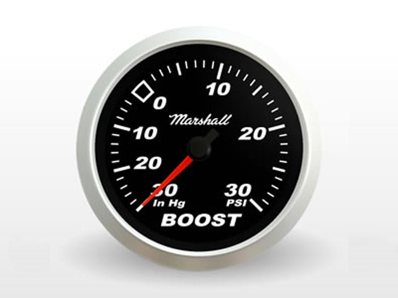 Black Boost Gauge