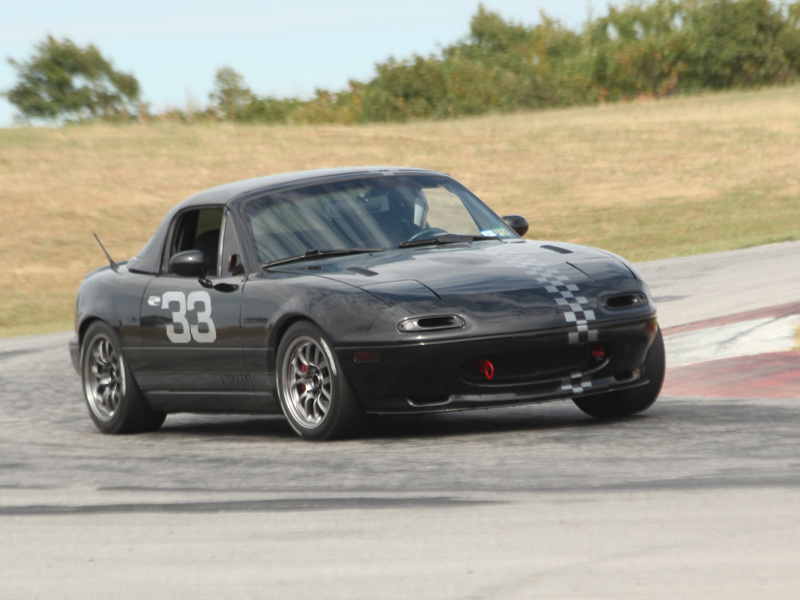 William's Black 96 R-Package Miata