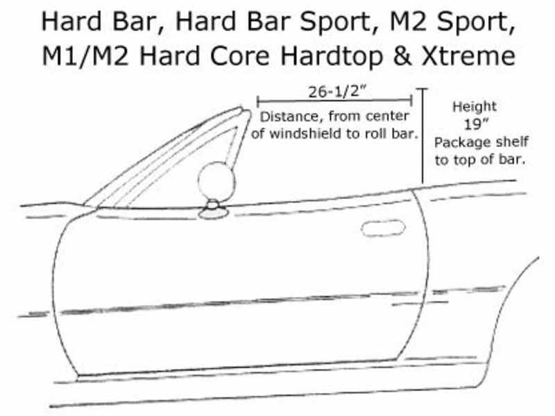 M1 Hard Core Hardtop Schematic