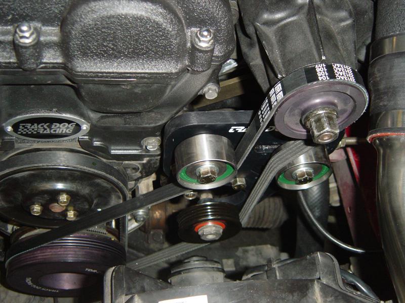 Tdr Supercharger Belt Tensioner A  C Delete Pulley For 90