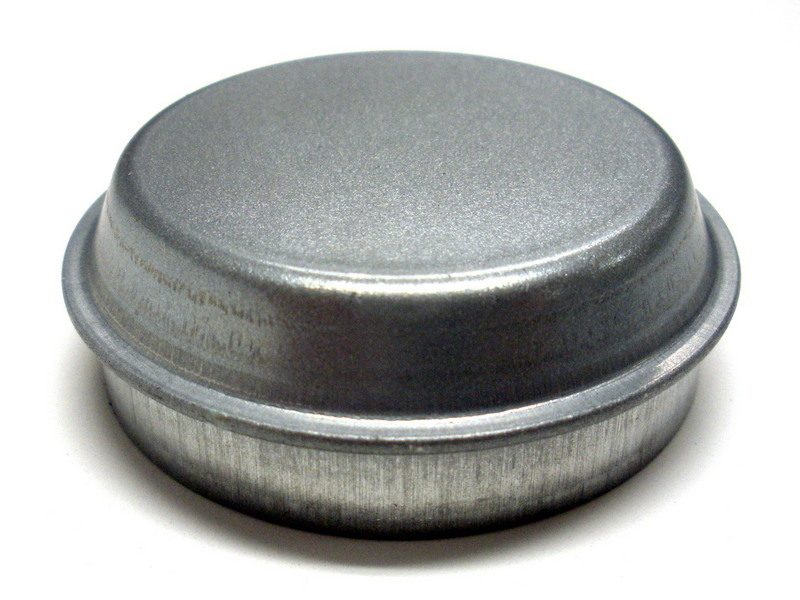 Front wheel hub dust cover