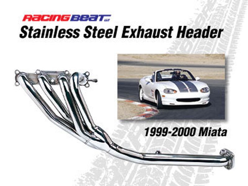 Racing Beat Header for 99-00 Miata