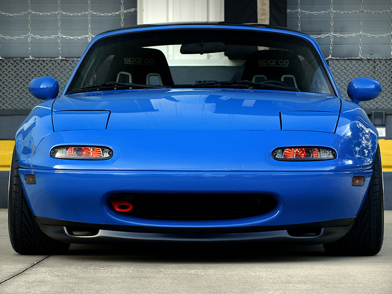 R Package Style Front Lip For 90 97 Miata