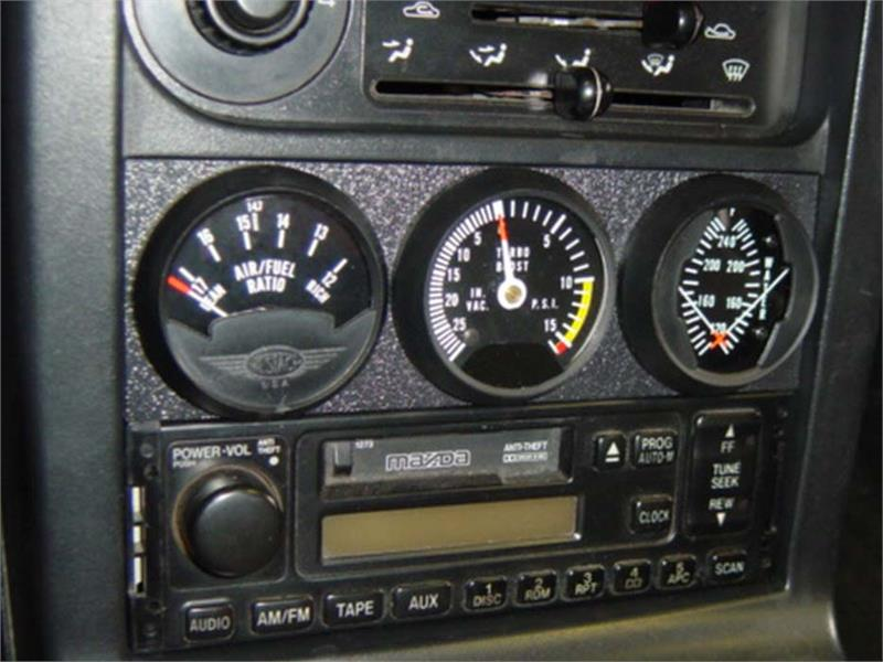 Tdr Custom 3 Gauge Panel For 90 97 Miata