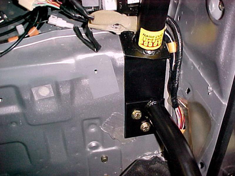 & Hard Dog Bolt-In Door Bars for 90-05 Miata - Black Powdercoat